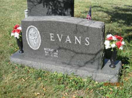 EVANS, MICHAEL RAY - Franklin County, Ohio   MICHAEL RAY EVANS - Ohio Gravestone Photos
