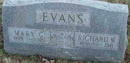 EVANS, MARY G - Franklin County, Ohio | MARY G EVANS - Ohio Gravestone Photos