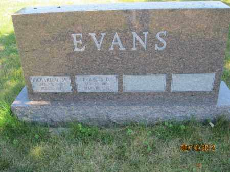 EVANS, FRANCES VIVIAN - Franklin County, Ohio | FRANCES VIVIAN EVANS - Ohio Gravestone Photos