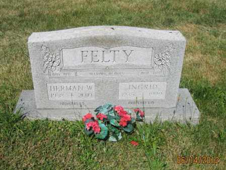 "FELTY, HERMAN WILLIAM ""BILL"" - Franklin County, Ohio   HERMAN WILLIAM ""BILL"" FELTY - Ohio Gravestone Photos"