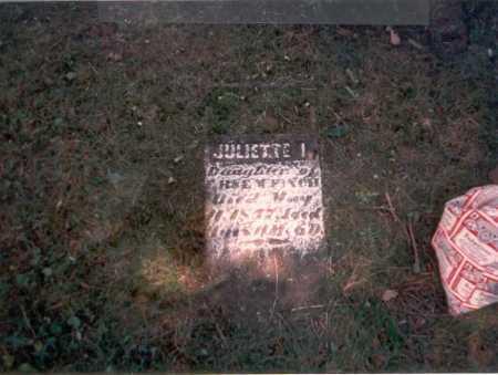 FINCH, JULIETTE I. - Franklin County, Ohio | JULIETTE I. FINCH - Ohio Gravestone Photos