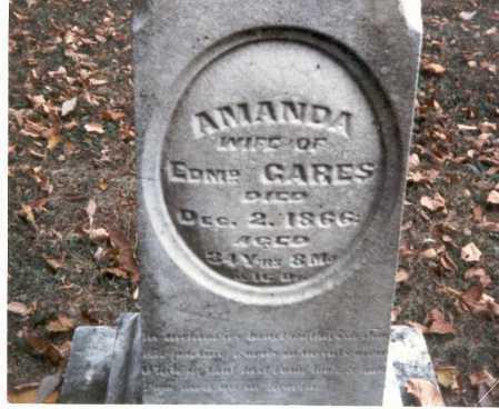 GARES, AMANDA - Franklin County, Ohio | AMANDA GARES - Ohio Gravestone Photos