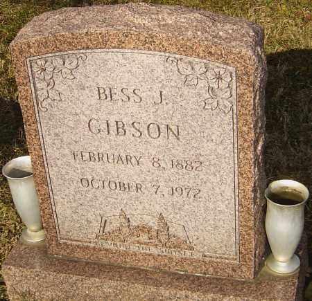 GIBSON, BESS J - Franklin County, Ohio | BESS J GIBSON - Ohio Gravestone Photos