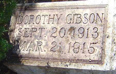GIBSON, DOROTHY ISABEL - Franklin County, Ohio | DOROTHY ISABEL GIBSON - Ohio Gravestone Photos