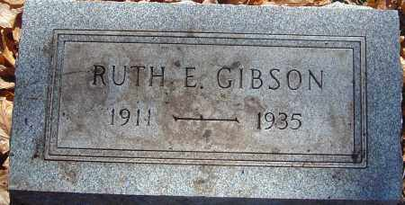 GIBSON, RUTH ELIZABETH - Franklin County, Ohio | RUTH ELIZABETH GIBSON - Ohio Gravestone Photos