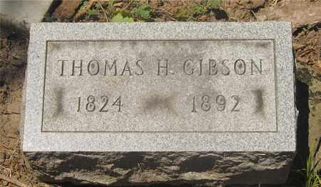 GIBSON, THOMAS H. - Franklin County, Ohio | THOMAS H. GIBSON - Ohio Gravestone Photos
