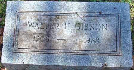 GIBSON, WALTER H - Franklin County, Ohio | WALTER H GIBSON - Ohio Gravestone Photos