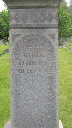 GLOCK, WILLIAM G. - Franklin County, Ohio | WILLIAM G. GLOCK - Ohio Gravestone Photos