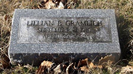 GRAMLICH, LILLIAN B. - Franklin County, Ohio | LILLIAN B. GRAMLICH - Ohio Gravestone Photos