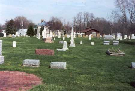 GROVEPORT CEMETERY, VIEW TO THE EAST - Franklin County, Ohio | VIEW TO THE EAST GROVEPORT CEMETERY - Ohio Gravestone Photos