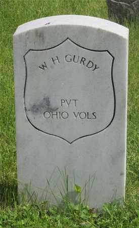 GURDY, W. H. - Franklin County, Ohio | W. H. GURDY - Ohio Gravestone Photos