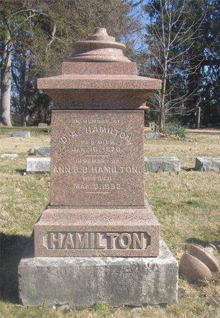 HAMILTON, ANN B. B. - Franklin County, Ohio | ANN B. B. HAMILTON - Ohio Gravestone Photos