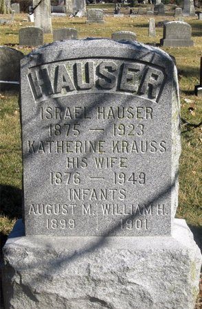 HAUSER, AUGUST M. - Franklin County, Ohio | AUGUST M. HAUSER - Ohio Gravestone Photos