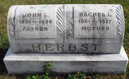 HERBST, RACHEL L. - Franklin County, Ohio | RACHEL L. HERBST - Ohio Gravestone Photos