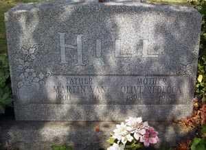 PLYMALE HILL, OLIVE REBECCA - Franklin County, Ohio   OLIVE REBECCA PLYMALE HILL - Ohio Gravestone Photos