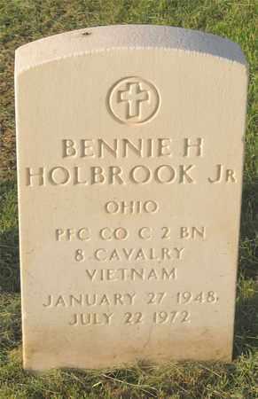 HOLBROOK, BENNIE H. - Franklin County, Ohio | BENNIE H. HOLBROOK - Ohio Gravestone Photos