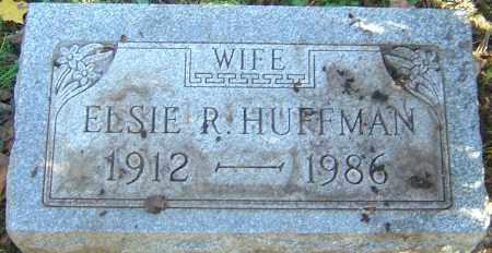 HUFFMAN, ELSIE R - Franklin County, Ohio   ELSIE R HUFFMAN - Ohio Gravestone Photos