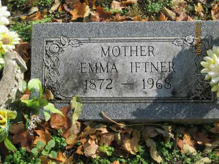 IFTNER, EMMA MARGARETHA - Franklin County, Ohio | EMMA MARGARETHA IFTNER - Ohio Gravestone Photos