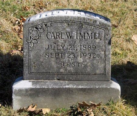 IMMEL, CARL W. - Franklin County, Ohio | CARL W. IMMEL - Ohio Gravestone Photos