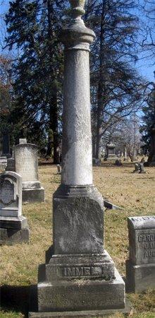 IMMEL, FAMILY MONUMENT - Franklin County, Ohio   FAMILY MONUMENT IMMEL - Ohio Gravestone Photos