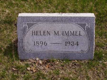 IMMEL, HELEN M. - Franklin County, Ohio   HELEN M. IMMEL - Ohio Gravestone Photos