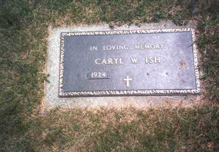 SHUMWAY ISH, CARYL W. - Franklin County, Ohio | CARYL W. SHUMWAY ISH - Ohio Gravestone Photos