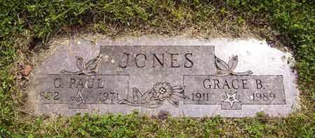 JONES, GRACE - Franklin County, Ohio | GRACE JONES - Ohio Gravestone Photos