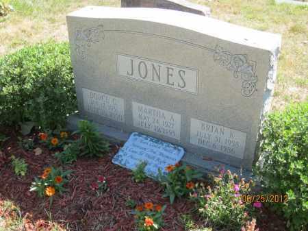 JONES, BRIAN KEVIN - Franklin County, Ohio   BRIAN KEVIN JONES - Ohio Gravestone Photos