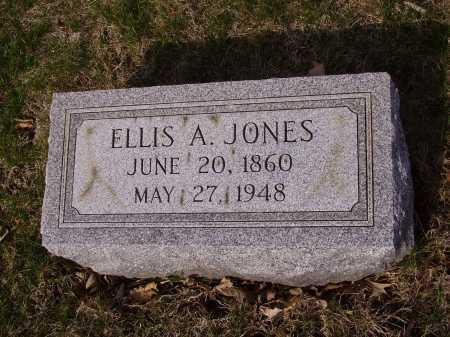 JONES, ELLIS A. - Franklin County, Ohio   ELLIS A. JONES - Ohio Gravestone Photos