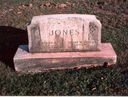 JONES, HENRY A. - Franklin County, Ohio | HENRY A. JONES - Ohio Gravestone Photos
