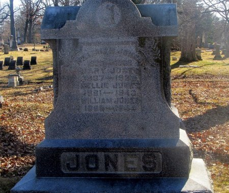 JONES, MARY - Franklin County, Ohio | MARY JONES - Ohio Gravestone Photos