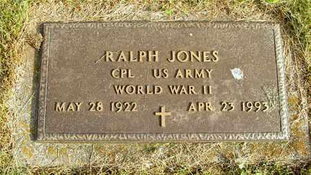 JONES, RALPH - Franklin County, Ohio   RALPH JONES - Ohio Gravestone Photos