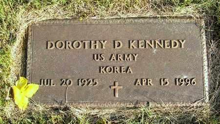 KENNEDY, DOROTHY D. - Franklin County, Ohio | DOROTHY D. KENNEDY - Ohio Gravestone Photos