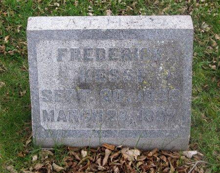 KESSI, FREDERICK - Franklin County, Ohio | FREDERICK KESSI - Ohio Gravestone Photos