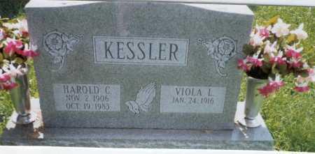 KESSLER, HAROLD C. - Franklin County, Ohio   HAROLD C. KESSLER - Ohio Gravestone Photos