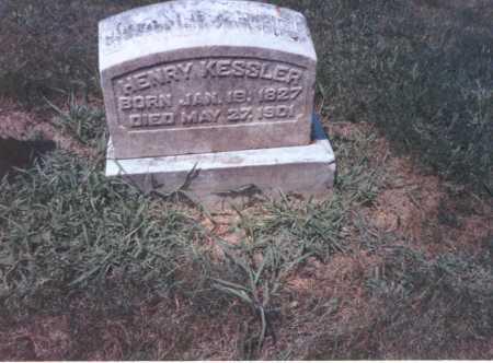 KESSLER, HENRY - Franklin County, Ohio | HENRY KESSLER - Ohio Gravestone Photos