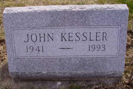 KESSLER, JOHN - Franklin County, Ohio | JOHN KESSLER - Ohio Gravestone Photos