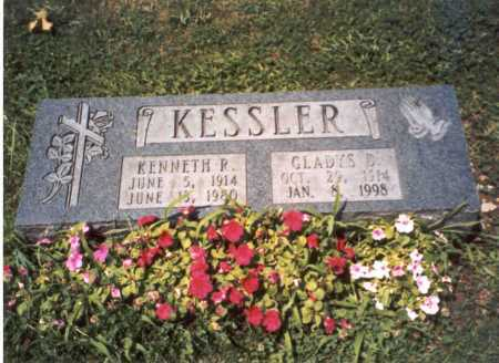 KESSLER, KENENTH P - Franklin County, Ohio | KENENTH P KESSLER - Ohio Gravestone Photos