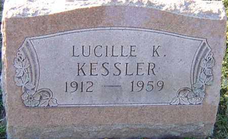 KESSLER, LUCILLE K - Franklin County, Ohio | LUCILLE K KESSLER - Ohio Gravestone Photos
