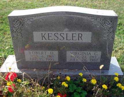 KESSLER, VIRGINIA C. - Franklin County, Ohio | VIRGINIA C. KESSLER - Ohio Gravestone Photos
