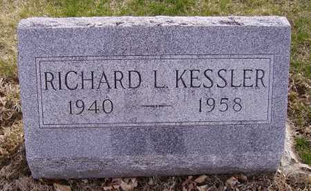 KESSLER, RICHARD L. - Franklin County, Ohio | RICHARD L. KESSLER - Ohio Gravestone Photos