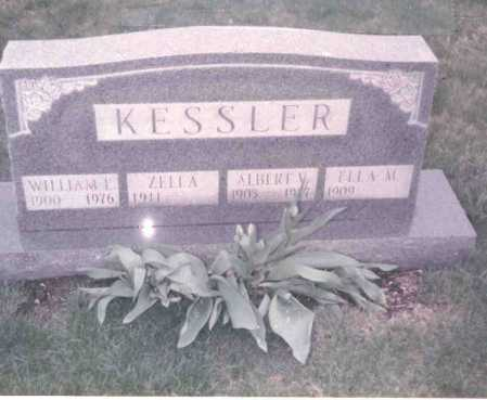 KESSLER, ZELLA - Franklin County, Ohio | ZELLA KESSLER - Ohio Gravestone Photos