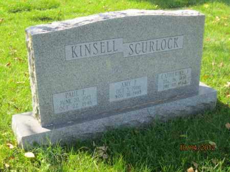 KINSELL, AMY FRANCES - Franklin County, Ohio | AMY FRANCES KINSELL - Ohio Gravestone Photos
