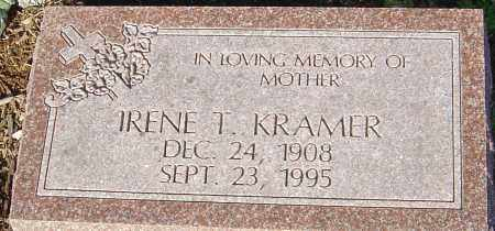 KRAMER, IRENE T - Franklin County, Ohio | IRENE T KRAMER - Ohio Gravestone Photos