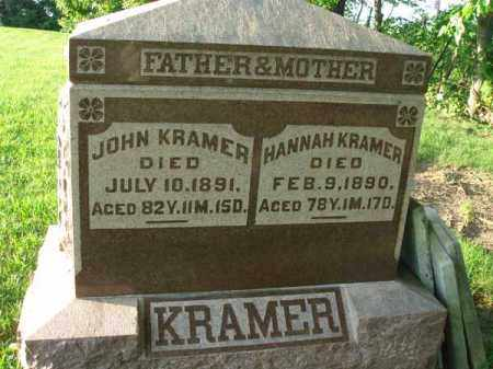 KRAMER, JOHN - Franklin County, Ohio | JOHN KRAMER - Ohio Gravestone Photos