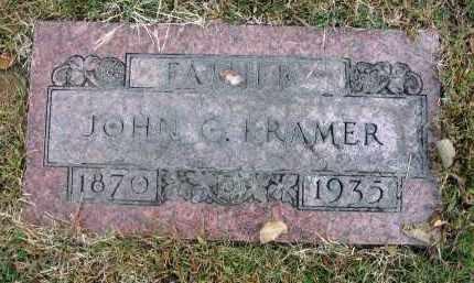 KRAMER, JOHN C. - Franklin County, Ohio | JOHN C. KRAMER - Ohio Gravestone Photos