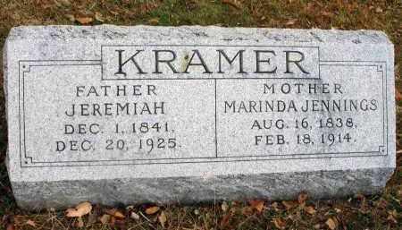 KRAMER, MARINDA - Franklin County, Ohio | MARINDA KRAMER - Ohio Gravestone Photos