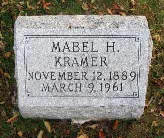 KRAMER, MABEL H. - Franklin County, Ohio | MABEL H. KRAMER - Ohio Gravestone Photos