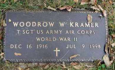 KRAMER, WOODROW W. - Franklin County, Ohio | WOODROW W. KRAMER - Ohio Gravestone Photos