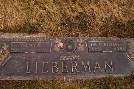LIEBERMAN, VELMA - Franklin County, Ohio | VELMA LIEBERMAN - Ohio Gravestone Photos